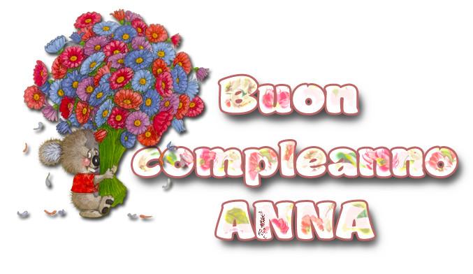 Buon Compleanno Anna