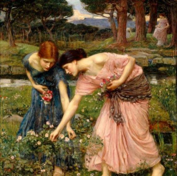 Nome:   John William Waterhouse – Rose selvatiche 640x.jpg