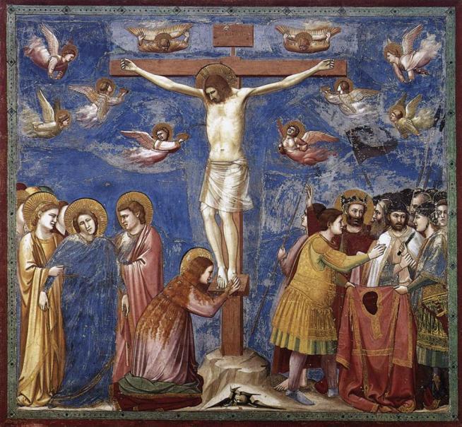 Nome:   Giotto_Cruxifixion.jpg Visite:  156 Grandezza:  98.4 KB