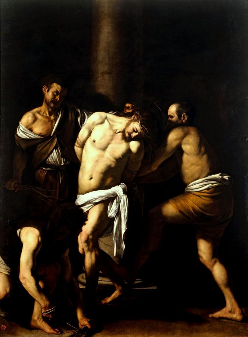 Nome:   Caravaggio_-_La_Flagellazione_di_Cristo.jpg Visite:  172 Grandezza:  85.9 KB