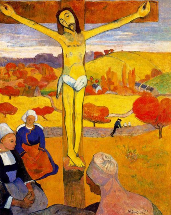 Nome:   gauguin_il_cristo_giallo-1889-settemuse-it.jpg Visite:  175 Grandezza:  86.8 KB