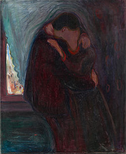 Nome:   250px-Edvard_Munch_-_The_Kiss_-_Google_Art_Project.jpg