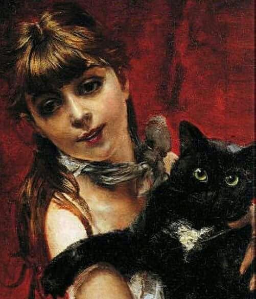 Nome:   fanciulla con gatto Boldini.jpg Visite:  97 Grandezza:  62.6 KB