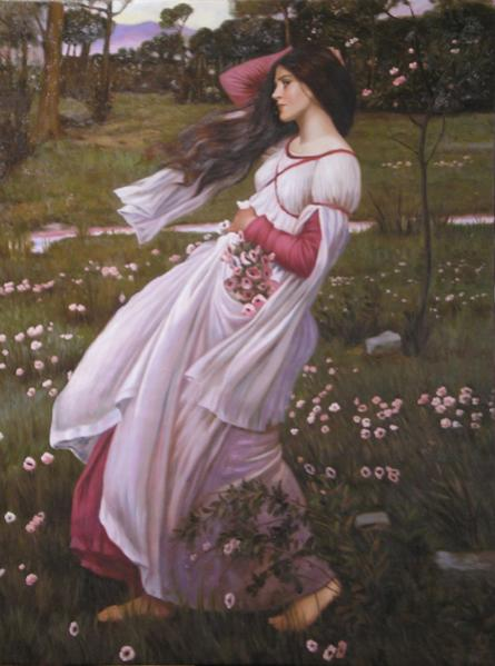 Nome:   Waterhouse - Windflowers.jpg