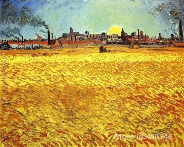 Nome:   Opere-d-arte-by-vincent-van-gogh-sera-d-estate-di-grano-con-sole-al-tramonto.jpg_640x640.jpg Visite:  76 Grandezza:  84.4 KB
