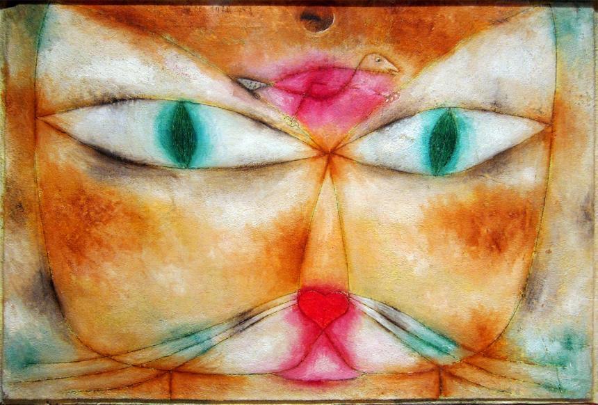 Nome:   gatto-e-uccello-paul-klee.jpg Visite:  64 Grandezza:  97.4 KB